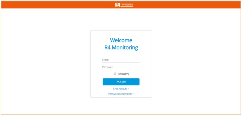 R4M login page